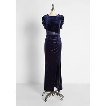 Dauntless and Daring Velvet Maxi Dress