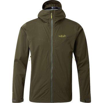 Rab Men's Kinetic Plus Jacket - Small - Army