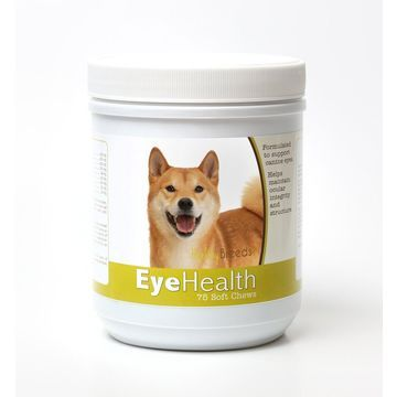 Healthy Breeds 840235145677 Shiba Inu Eye Health Soft Chews - 75 Count