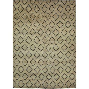 Solo Rugs One-of-a-kind Rabat Hand-knotted Area Rug 6' x 9'