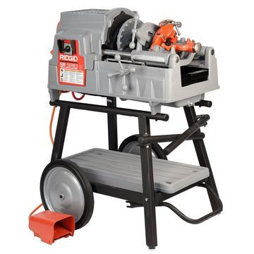 RIDGID 535 V3 Pipe Threading Machine with 150A Cart 811A Die Head Reconditioned