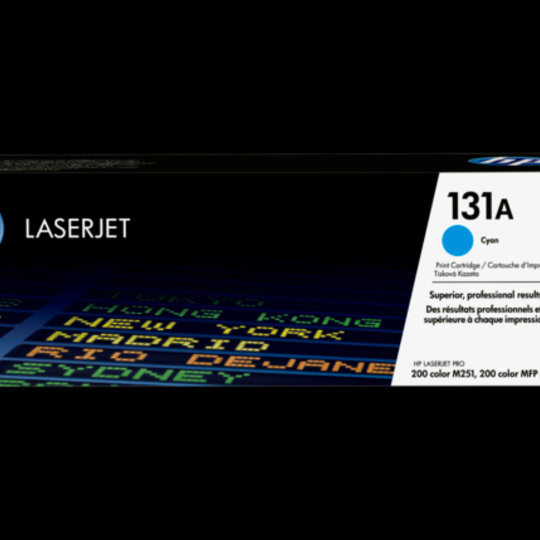 HP 131A Cyan Original LaserJet Tone
