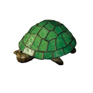 10750 4 Inch H X 9 Inch W X 6 Inch D Tiffany Turtle Accent Lamp