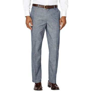 Tasso Elba Mens Linen Casual Trousers