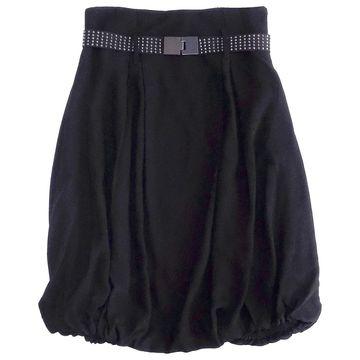 Pinko Black Viscose Skirts