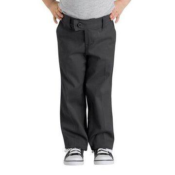 Genuine Dickies Girls School Uniform Slim Fit Straight Leg Stretch Twill Pants (Big Girls)