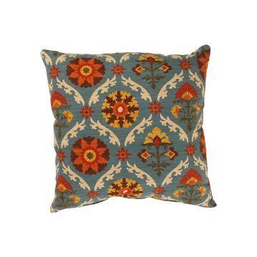 Pillow Perfect Mayan Medallion Pillow