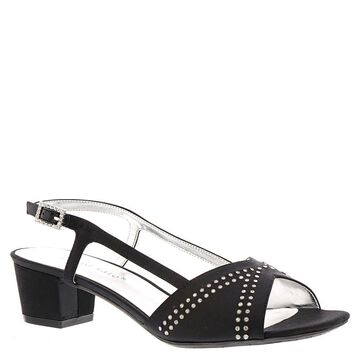 David Tate Womens Wish Fabric Open Toe Special Occasion