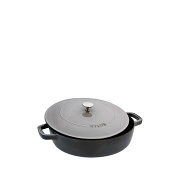 Graphite Grey Staub Cast Iron 2.75 Quart Braiser