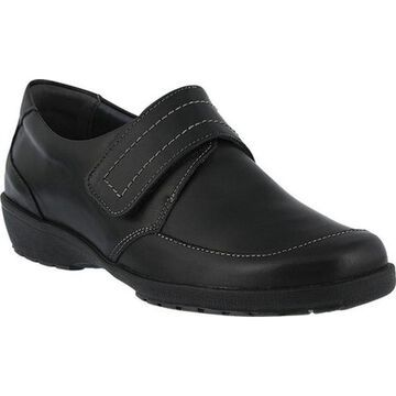 Spring Step Women's Darby Black Leather