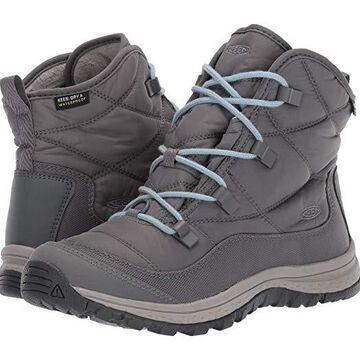 Keen Terradora Ankle Waterproof (Steel Grey/Paloma) Women's Shoes