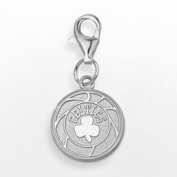 LogoArt Boston Celtics Sterling Silver Logo Charm