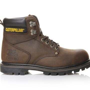 Caterpillar Second Shift 6 In Steel Toe Men's Boot