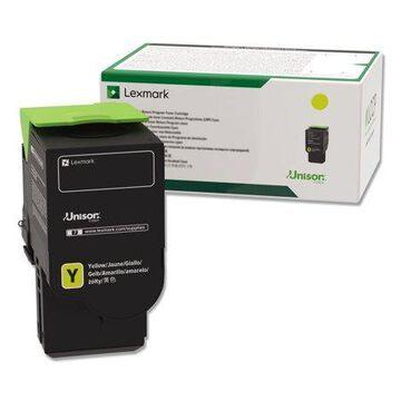 Lexmark, LEX78C1UY0, Yellow Ultra High Yield Return Program Toner Cartridge