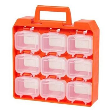 Iris 9 Compartment Utility Case - Clear