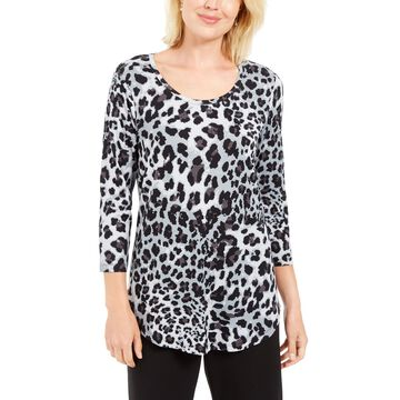 Leopard-Print Top, Created For Macy's