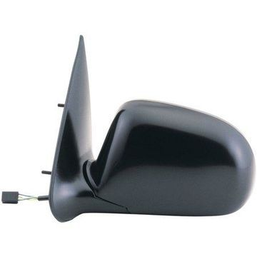 61020F - Fit System Driver Side Mirror for 93-97 Ford Ranger Pick-Up, black, foldaway, Power