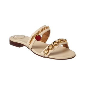 Chloe Victoria Leather Sandal