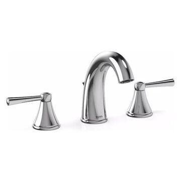 Toto Silas TL210DD12 Widespread Bathroom Faucet, Polished Chrome