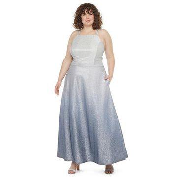 Trixxi Plus Sleeveless Ball Gown-Juniors