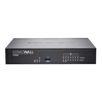 7-port SonicWall TZ400 - Advanced Edition - security appliance - with 1 year TotalSecure - 7 ports - GigE