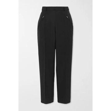 Maison Margiela - Cropped Twill Straight-leg Pants - Black