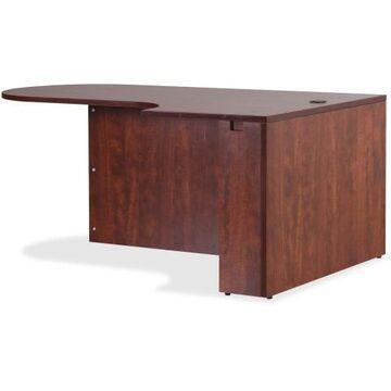 Lorell Essentials Right Peninsula Desk Box 1 of 2