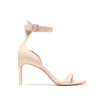 Sophia Webster - Nicole Patent-leather Sandals - Neutral