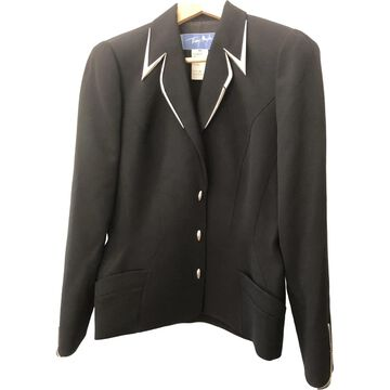 Thierry Mugler \N Black Wool Jackets