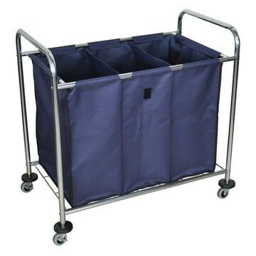 Luxor Mobile Laundry Cart