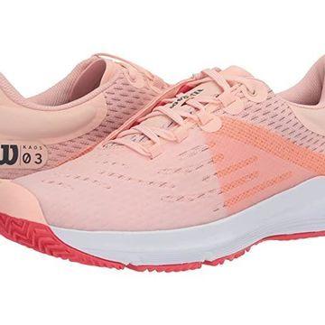 Wilson Kaos 3.0 (Tropical Peach/White/Cayenne) Women's Tennis Shoes