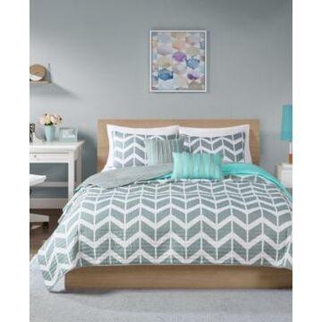 Intelligent Design Nadia 4-Pc. Twin/Twin Xl Coverlet Set Bedding