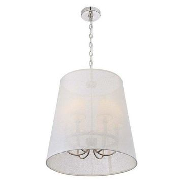 Libby Langdon for Crystorama Culver 6-Light Chandelier