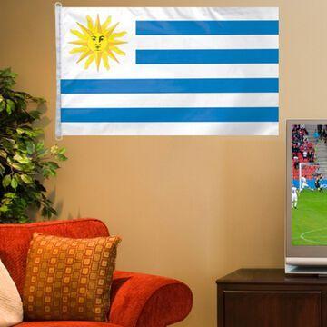 Uruguay WinCraft 3' x 5' Flag