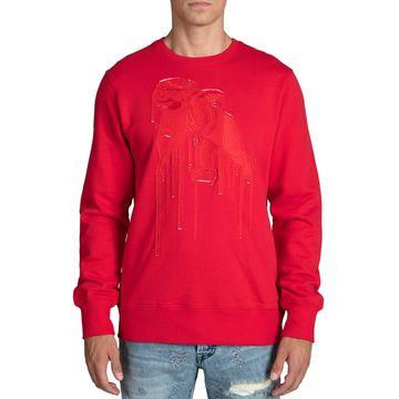Men's Cherub Applique Sweatshirt