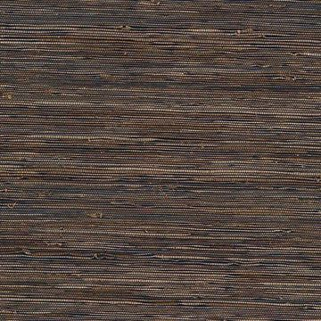 Kenneth James Kasumi Slate Grasscloth Wallpaper
