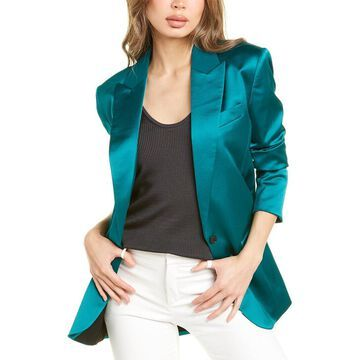 The Kooples Emerald Satin Blazer