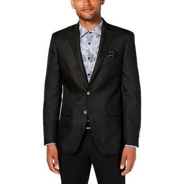 Tallia Mens Sportcoat Slim Fit Pattern - 40S