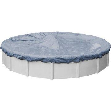 Robelle 8-Year Value-Line Round Winter Pool Cover, 28 ft. Pool