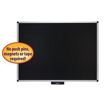 Justick by Smead 02563 Premium Aluminum Frame Bulletin Board