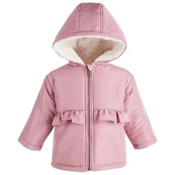 First Impressions Baby Girls Ruffle Waist Jacket, Created for Macy's