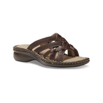 Eastland Women's Sandals BROWN - Brown Lila Opanka Leather Sandal - Women