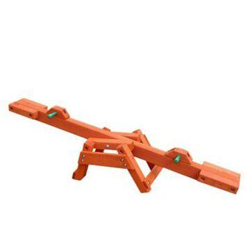 Gorilla Playsets Wooden See-Saw, Redwood Stain, 02-3002-CEDAR