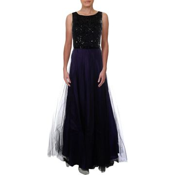 Theia Womens Evening Dress Silk Prom - 8