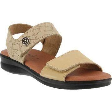 Flexus by Spring Step Women's Komarra Quarter Strap Sandal Beige