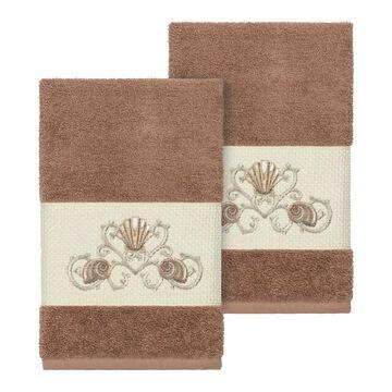 Linum Home Textiles Bella Embellished Hand Towel