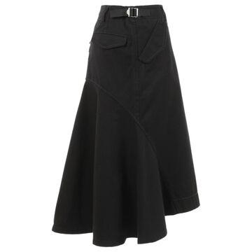 Sacai \N Black Cotton Skirts