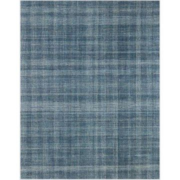 Coventry Teal Hand-Tufted Area Rug 7'6