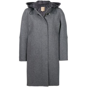 cocoon fitted coat