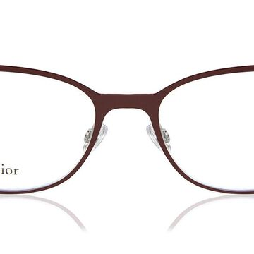 Dior DIOR ESSENCE 13 LHF Womenas Glasses Burgundy Size 53 - Free Lenses - HSA/FSA Insurance - Blue Light Block Available